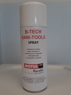 NEW LINE OF SANITIZING PRODUCTS: B-TECH SANITIZER