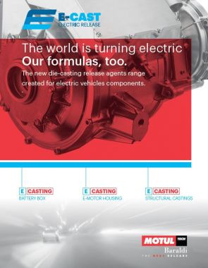 E-CAST: THE NEW FAMILY OF DIE RELEASE AGENT FOR ELECTRIC VEHICLE