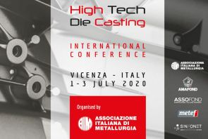 HTDC 2020 – HI TECH DIE CASTING INTERNATIONAL CONFERENCE