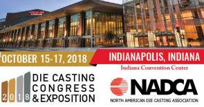 NADCA DIE CASTING CONGRESS & EXPOSITION 2018